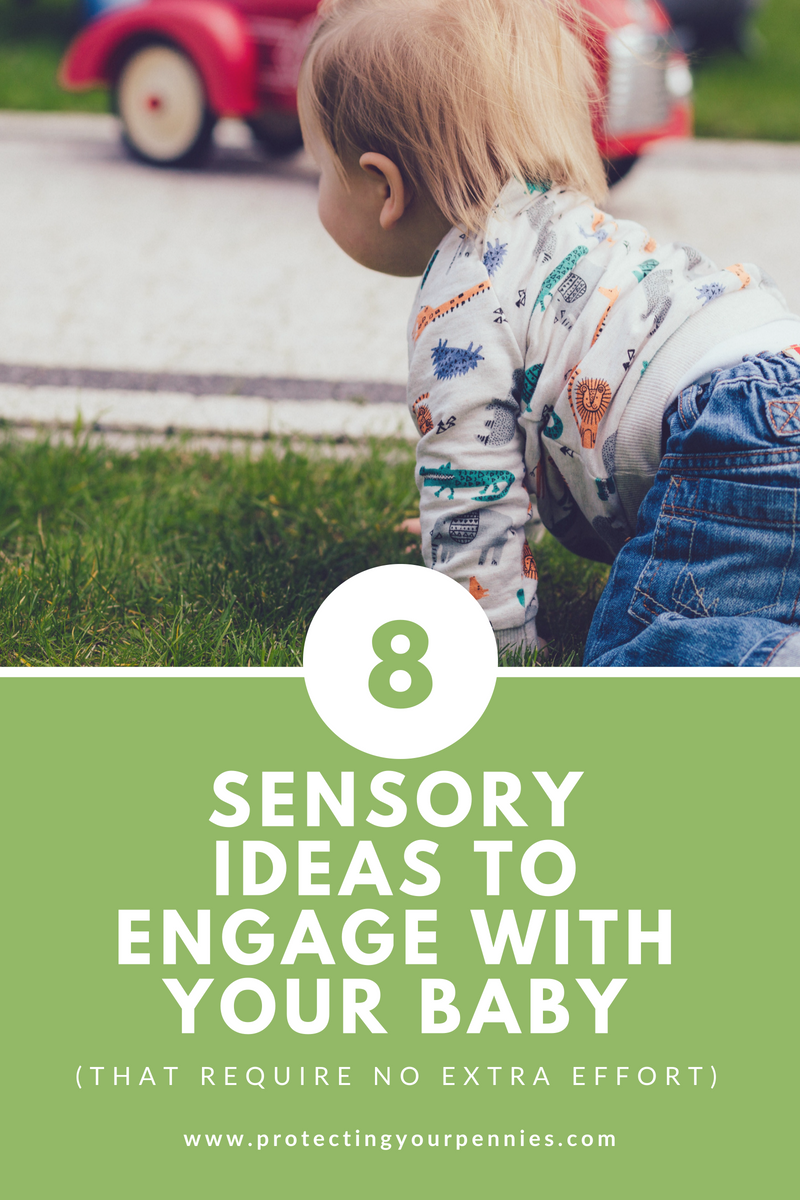 8 Sensory ideas to engage with your baby