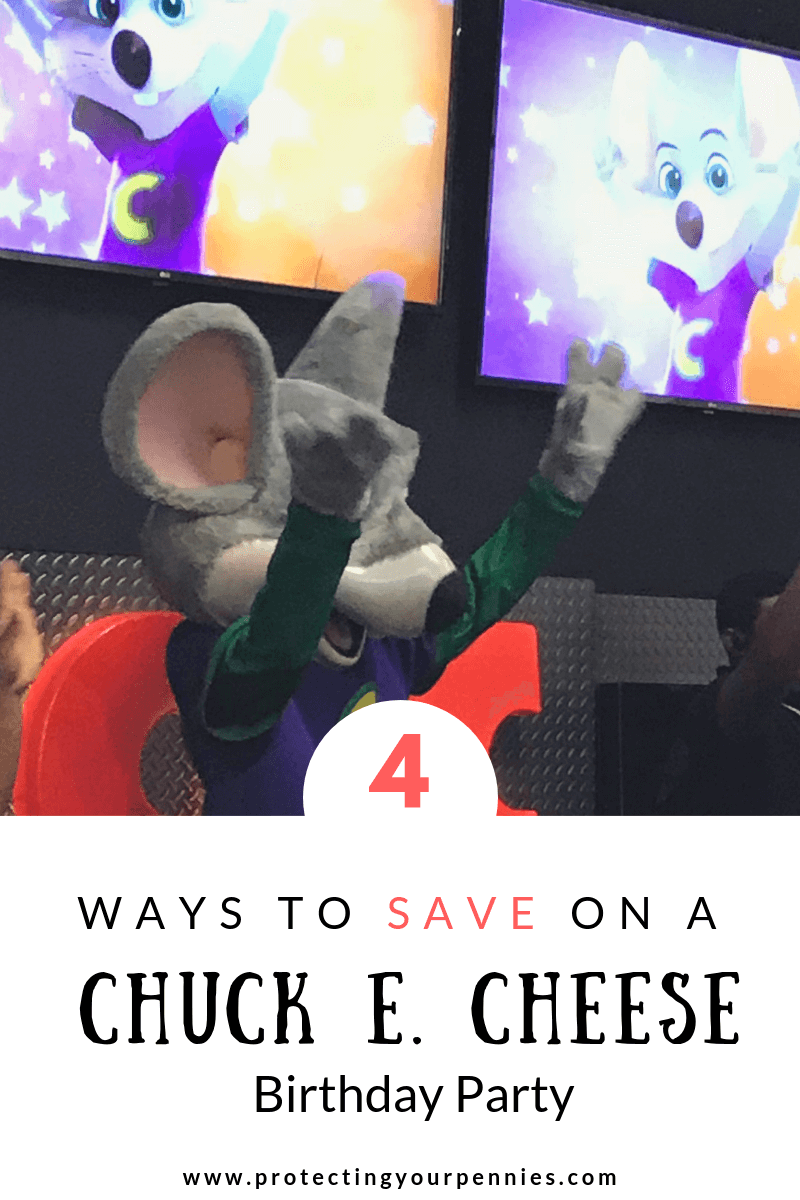4 Ways to Save Money On A Chuck E. Cheese Birthday Party