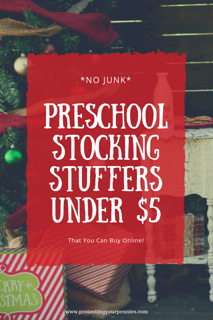 Preschool Stocking Stuffers Under $5 that You can buy online. This big list has lots of cute ideas for your daughter's stocking with no junk. Stay within your Christmas budget with cheap toys, accessories and lip balm without compromising on quality.